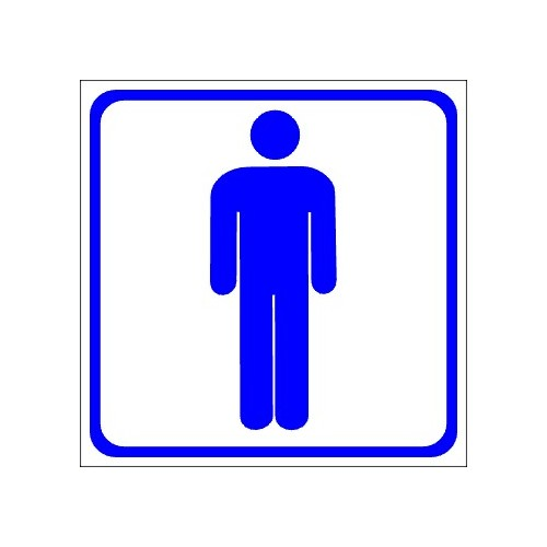 Stickers pictograms for men